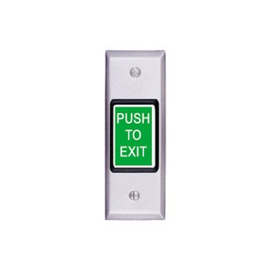 Exit Button- Narrow Spdt