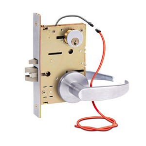 With Trim, Complete Mortise Lock