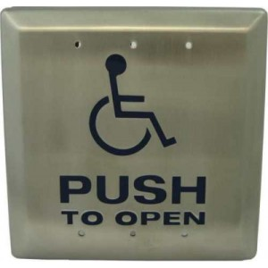 Square Push Button
