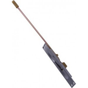 "Manual flush bolt 10"" rod"